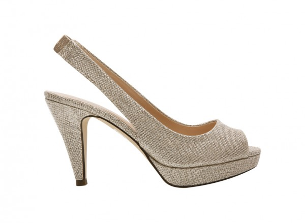 Evelaines Gold High Heel