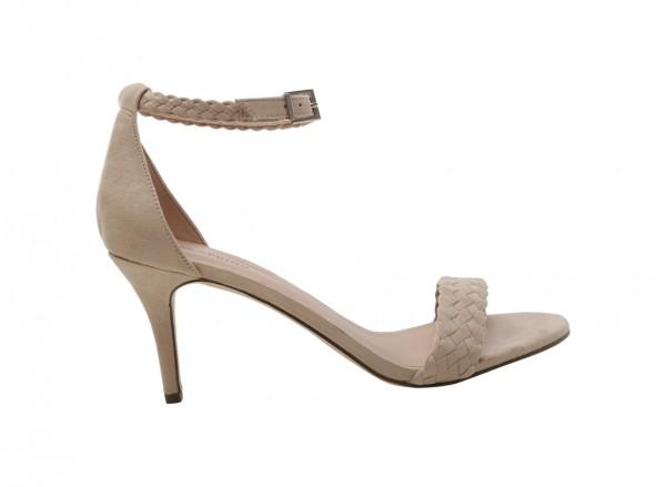حذاء بيج بكعب متوسط الارتفاع - كيدالان