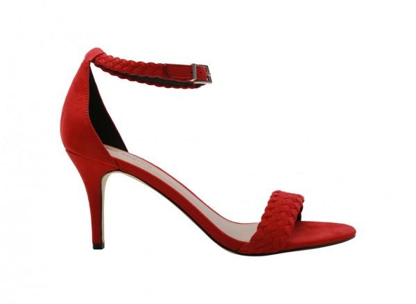 Kedallan Red Mid Heel