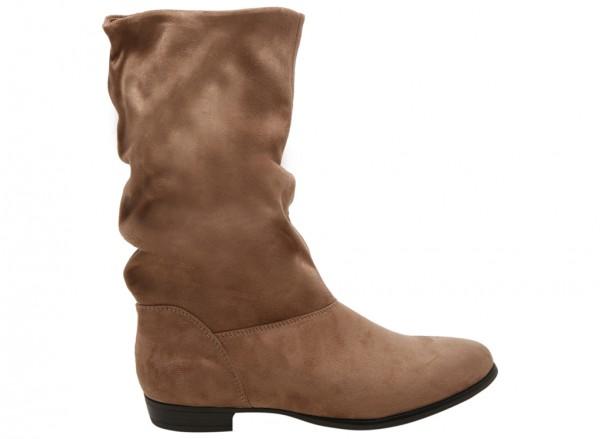 حذاء بوت جوجالي بني