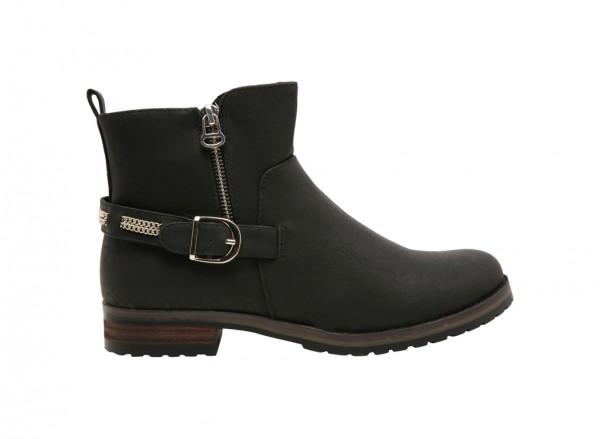 حذاء بوت روفيل أسود