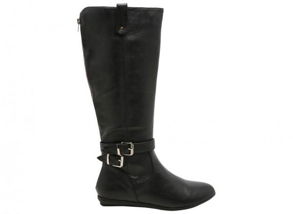 حذاء بوت اكيراسا أسود