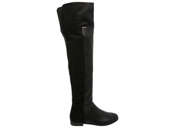 حذاء بوت هايسا أسود