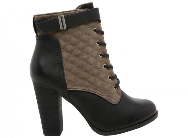 حذاء بوت اكيراري رمادي داكن