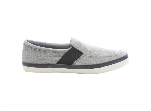 Alesien Gray Slip-Ons