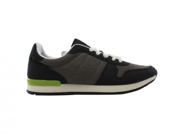 Ephraide Black Laced Shoe