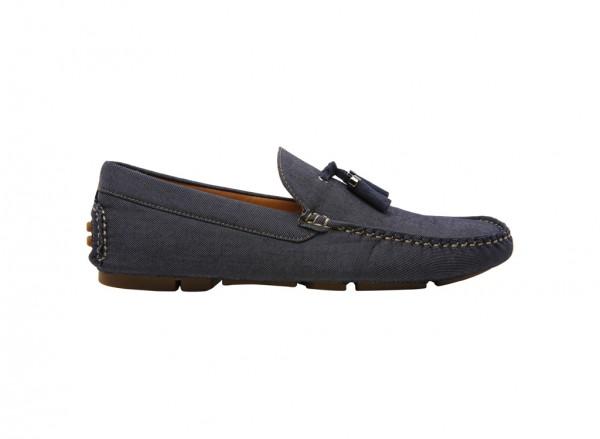 Henrich Navy Loafer