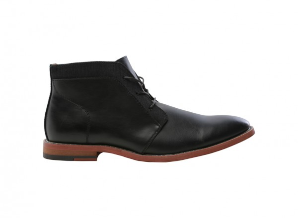 حذاء أسود بأربطة - كوكرينو