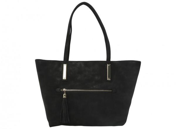Capshaw Black Shoulder Bags & Totes