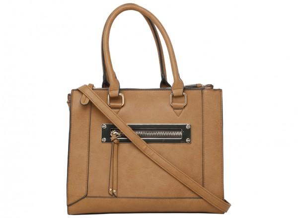 Oldtown Brown Handbag