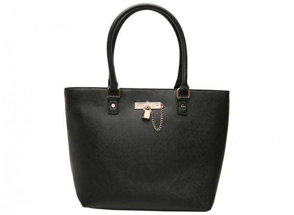 Petiole Black Shoulder Bags & Totes