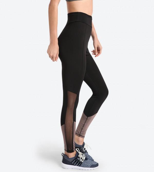 7f4b176a5d Elasticated Waistband Leggings - Black 318-1425WY004-2