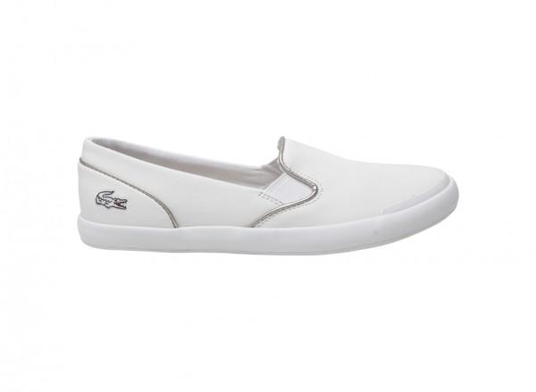 Lancelle White Slip-Ons