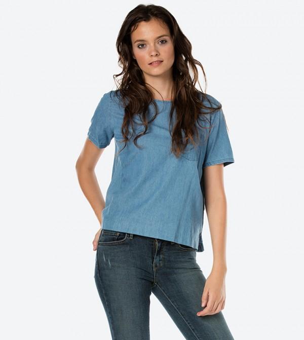 a4af27bf9a2c Levi's Perfect Pocket Short Sleeve T-Shirt - Blue 34983-0000
