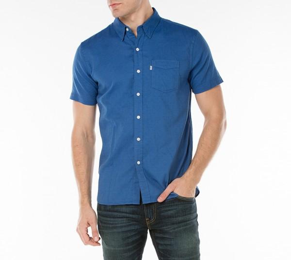 b58b124e8 Levi's Short Sleeve Sunset One Pocket Shirt 65826-0108