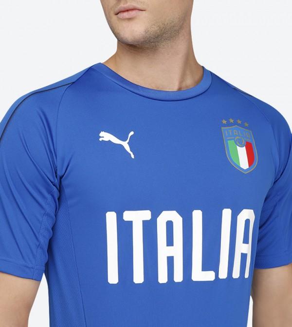 more photos 8e2df ab54d Figc Italia Training Jersey - Blue 75231601
