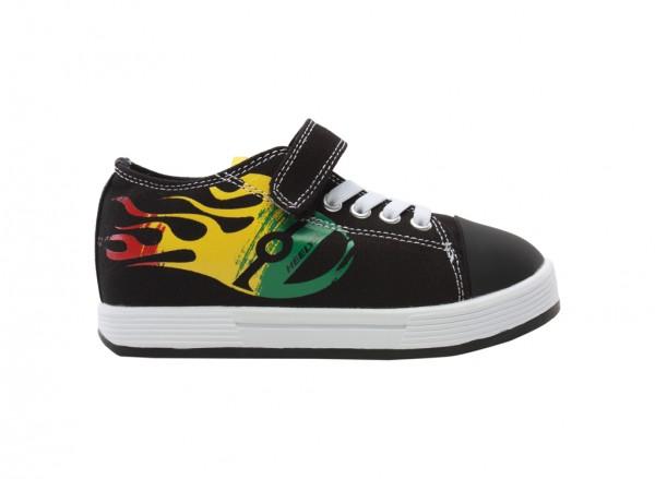 Spiffy Black Sneakers - 770717K