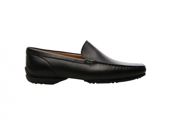 Glamour Black Slip-Ons - 80001