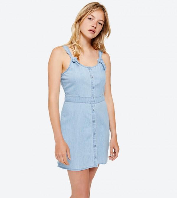 e0874a5aa3 Ardene Sleeveless Denim Mini Dress - Blue 8B-AP02662