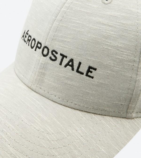 613e4b930d8 Embroidered Velcro Baseball Cap - Grey AERO-A-GUYS-CAPS