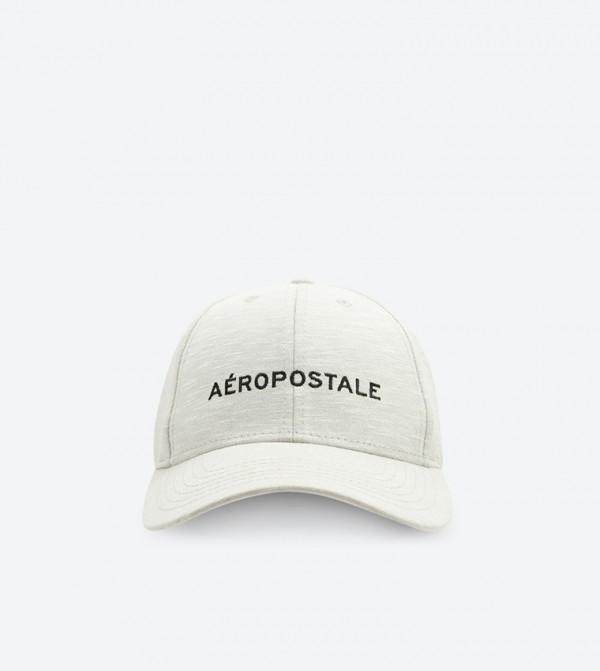 af030a4fcae Aeropostale Embroidered Velcro Baseball Cap - Grey AERO-A-GUYS-CAPS
