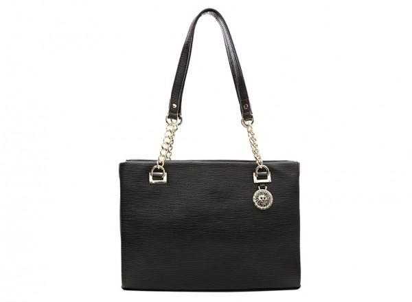 Anne Klein City Dweller  Handbag Tote Sm For Women - Man Made Black