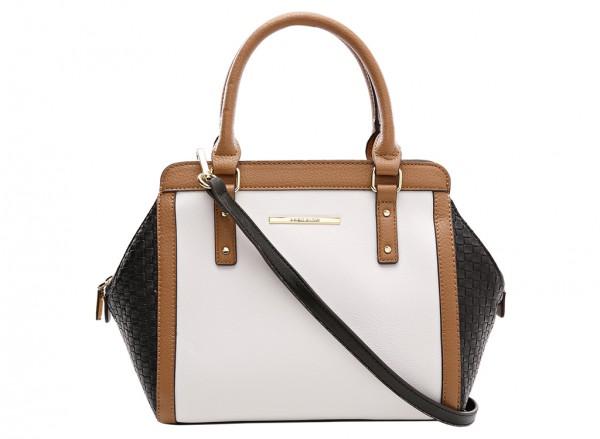Anne Klein It?S The One Handbag Satchel Sm For Women - Man Made White