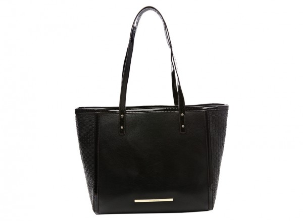 Anne Klein It?S The One Handbag Tote Lg For Women - Man Made Black