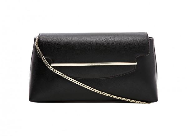 Anne Klein Style Achiever Handbag Clutch Md For Women - Man Made Black