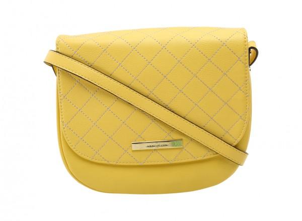حقيبة لون أصفر داكن