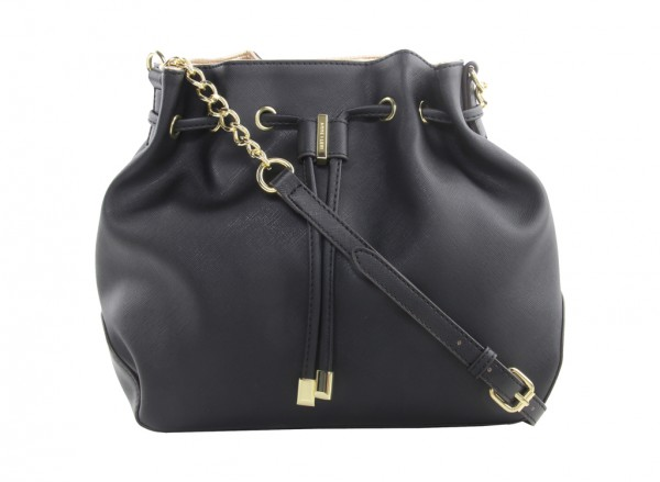 Double Time Black Cross Body Bag