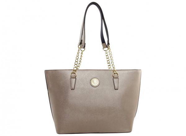 Double Time Beige Totes
