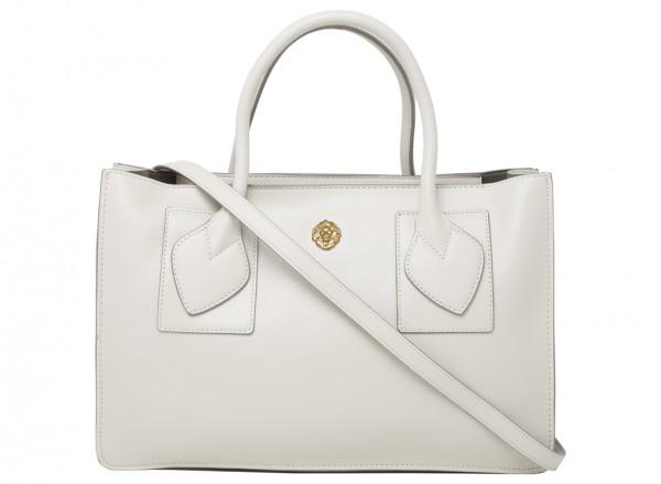Marlo White Satchels & Handheld Bags