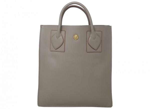 Sandra Shopper Grey Shoulder Bags & Totes