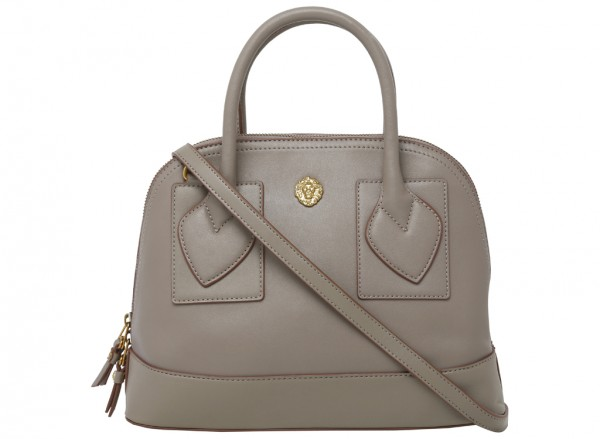 Small Billie Grey Satchels & Handheld Bags