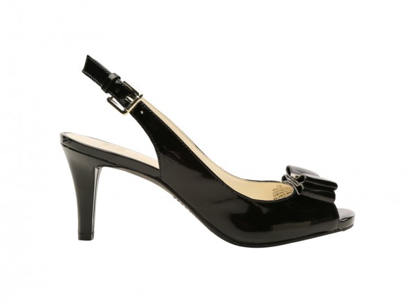 Stephania Black Pumps