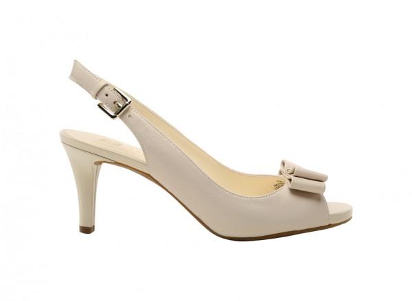 Stephania White Sandal