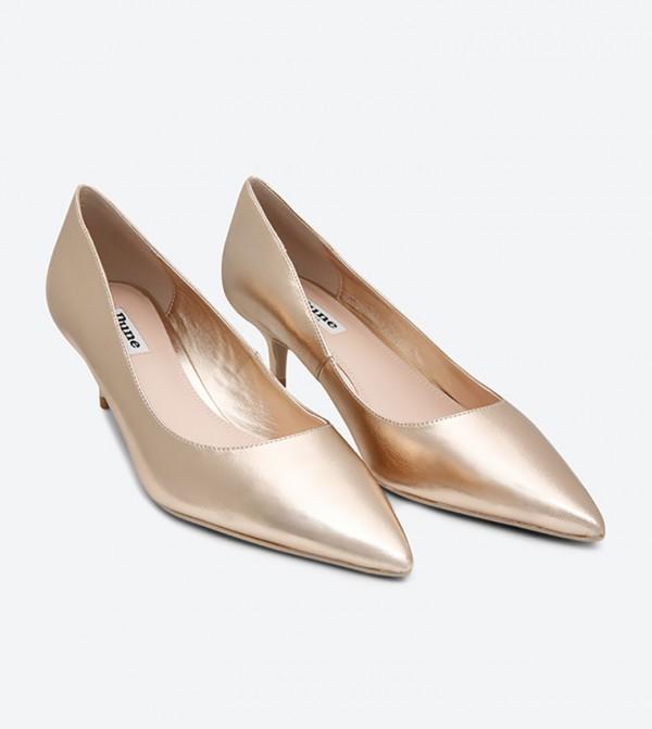 e97c8d601cc Kitten Heel Pumps - Rose Gold