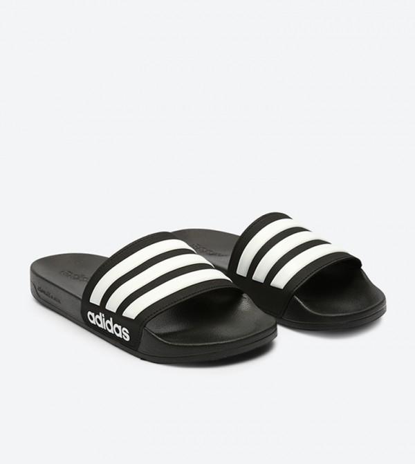 093244e63 Adilette Slides - Black - AQ1701