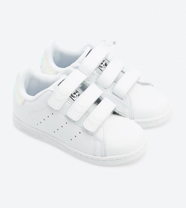 651f4946d حذاء ستان سميث سي اف 3 بلون فضي