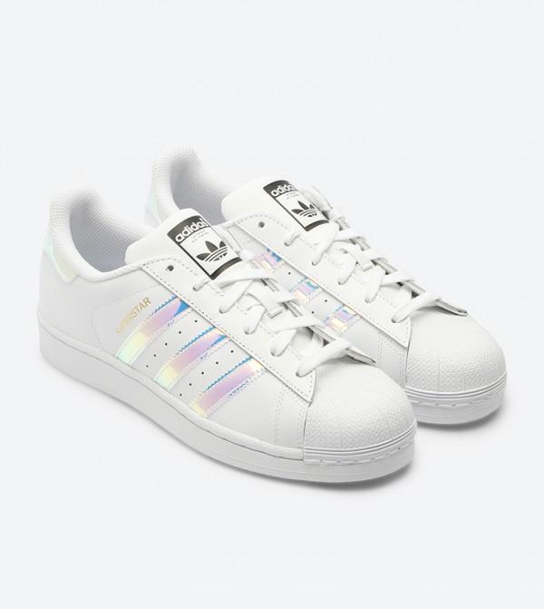 3ab65f22d حذاء سوبر ستار بلون أبيض