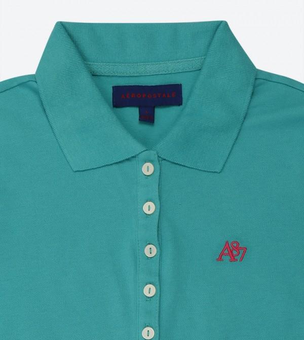 f3bc3379 A87 Pique Polo Shirt - Blue AR-8017-4163
