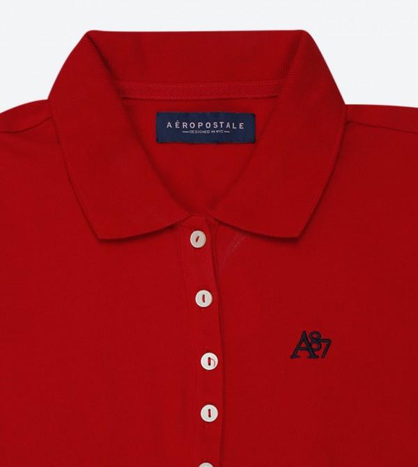 1f9c8fa7 A87 Pique Polo Shirt - Red AR-8017-4163