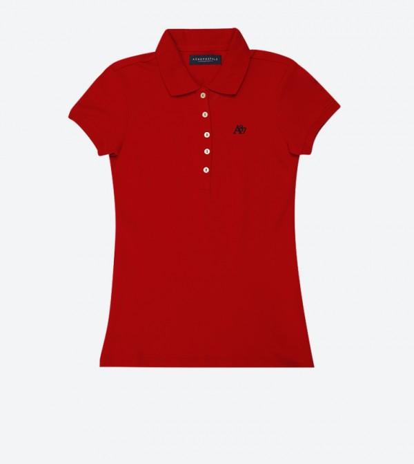 e554eb5e Home; A87 Pique Polo Shirt - Red AR-8017-4163. AR-8017-4163-ARRED-CLSIC