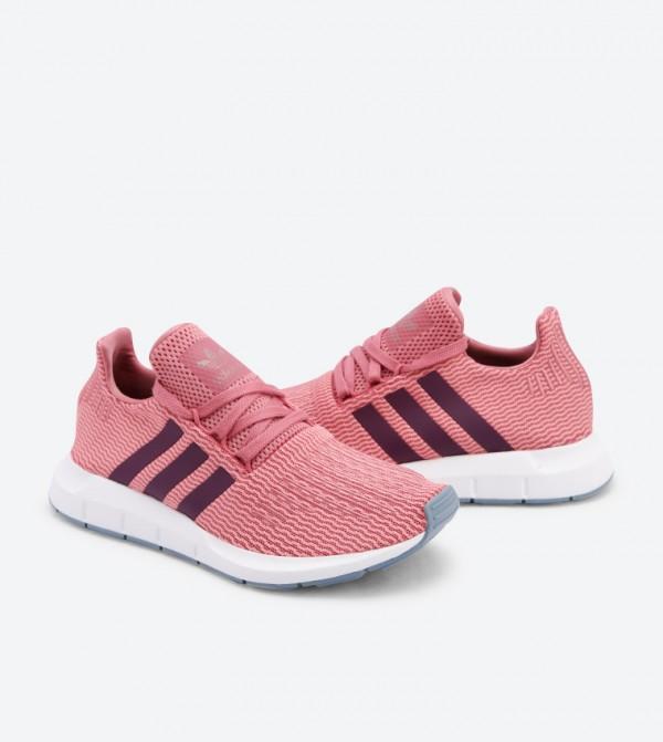 f47ea792b85fc Lace Up Closure Swift Run Shoes - PinkB37718