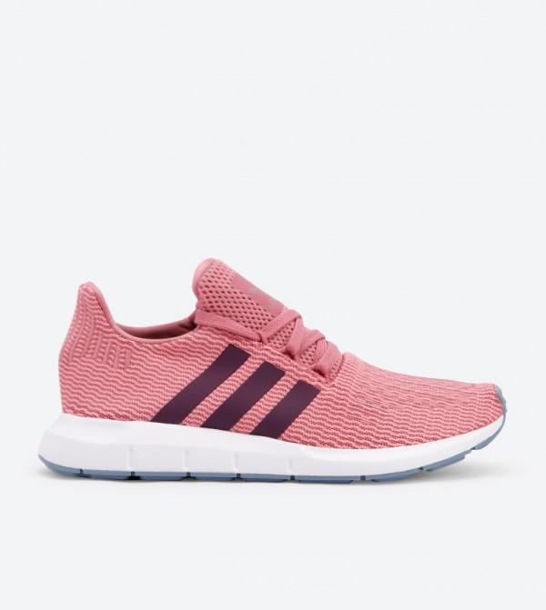 c33de21b98930 Adidas Lace Up Closure Swift Run Shoes - PinkB37718