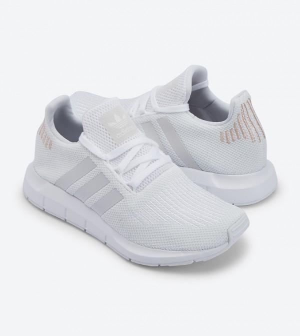 90084dd3d9a31 Lace Up Closure Swift Run Shoes - WhiteB37719
