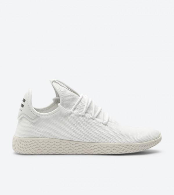 fe07c3d5c Home  Pharrell Williams Tennis Hu Sneakers - White B41792. B41792 -WHT-CHALK-WHT