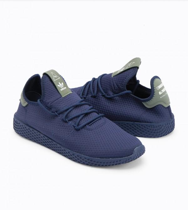 8d10426349bc1 Pharrell Williams Tennis Hu Shoes - NavyB41807