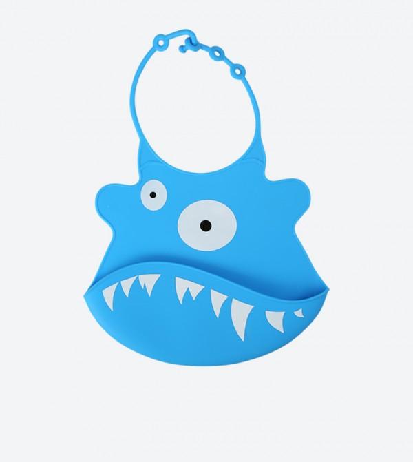 Fish Silicon Bib - Blue